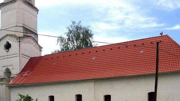 Rekonštrukcia - strecha kostola