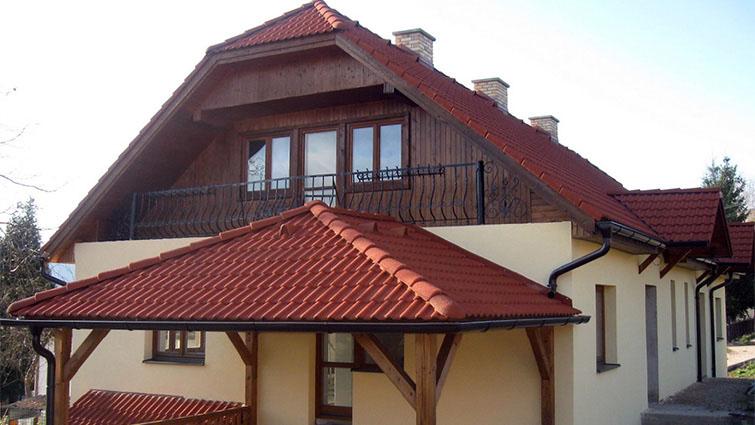 Rekonštrukcia strechy, stavba prístrešku
